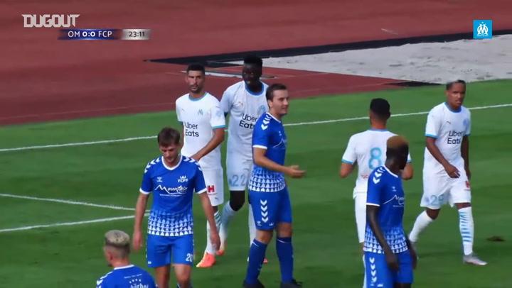 Marseille's 5-1 victory vs FC Pinzgau