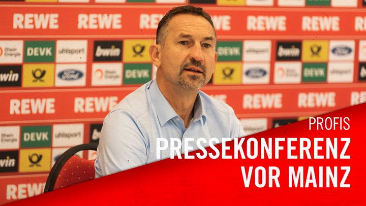 Pressekonferenz vor Mainz