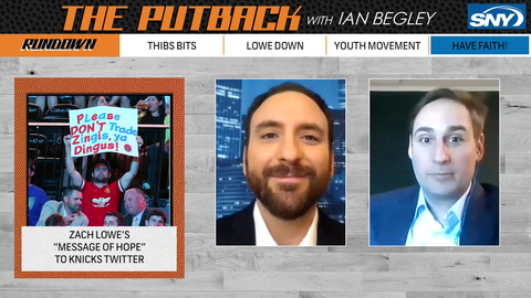 The Putback with Ian Begley: Zach Lowe talks Knicks in the series premiere