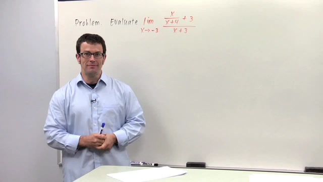 Evaluating Limits Algebraically, Part 2 - Problem 2