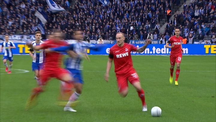 Highlights Hertha BSC - 1. FC Köln (2019 - 2020)