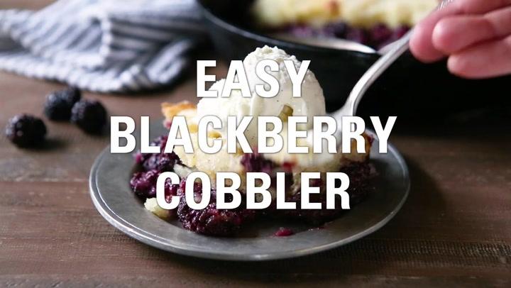 Pioneer Woman's Blackberry Cobbler