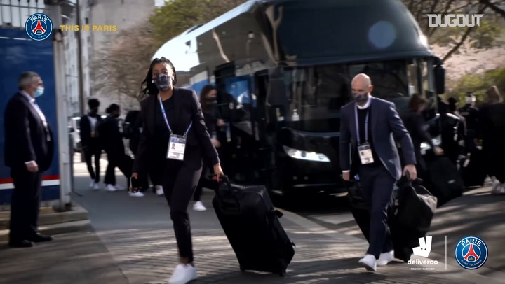 Behind the scenes: PSG faced Lyon in the UEFA women Champions League