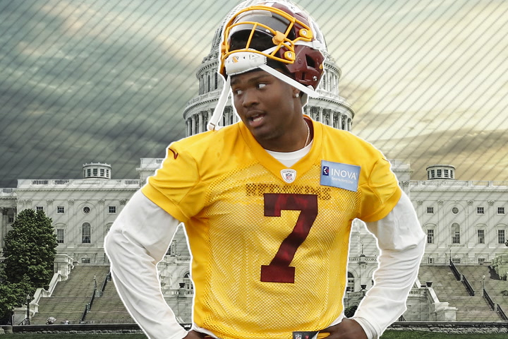 Jay Gruden says Dwayne Haskins still has 'a long way to go'