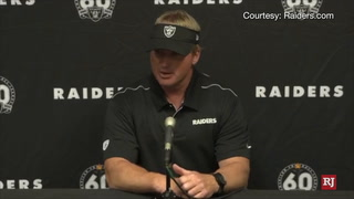 Raiders Vs. Cardinals Post Game Press conference
