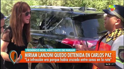 Miriam Lanzoni fue detenida en un oscuro episodio en Carlos Paz