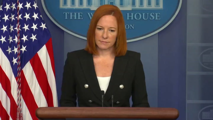 Psaki denies Texas lawmakers created 'superspreader event' after White House Covid outbreak