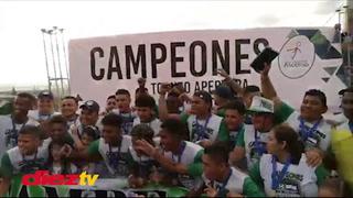 Video: La emocionante vuelta olímpica de Atlético Pinares al coronarse campeón en la Liga de Ascenso