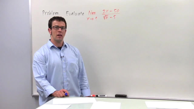Evaluating Limits Algebraically, Part 1 - Problem 3