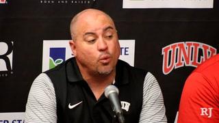 Coach Sanchez talks positive for UNLV football