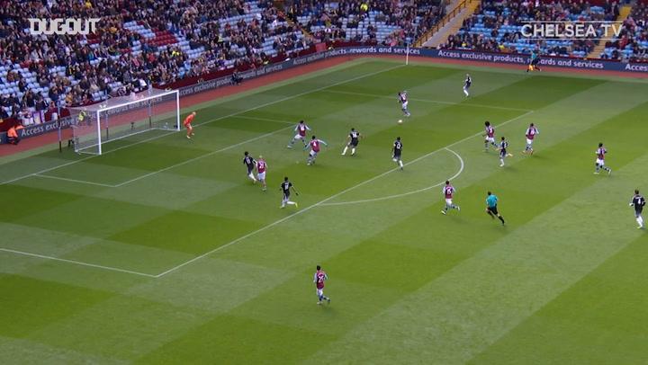 Chelsea fire four past Aston Villa