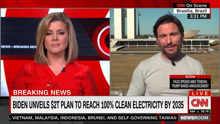 CNN's Weir: Anyone Who Cares about Environment 'Will Probably Vote for a Loaf of Bread over Donald Trump'