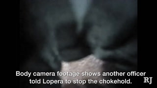 Body cam footage shows officer kept chokehold after being told to stop