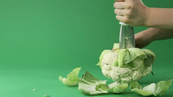 Preview image of Chef'n Stalkchop Cauliflower Stalk Remover video