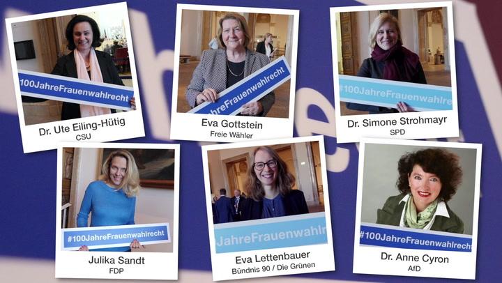 100 Jahre Frauenwahlrecht - Mehr Frauen ins Parlament