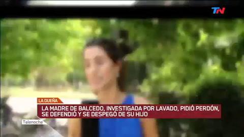 La madre de Balcedo pidió perdón y expresó sus dudas