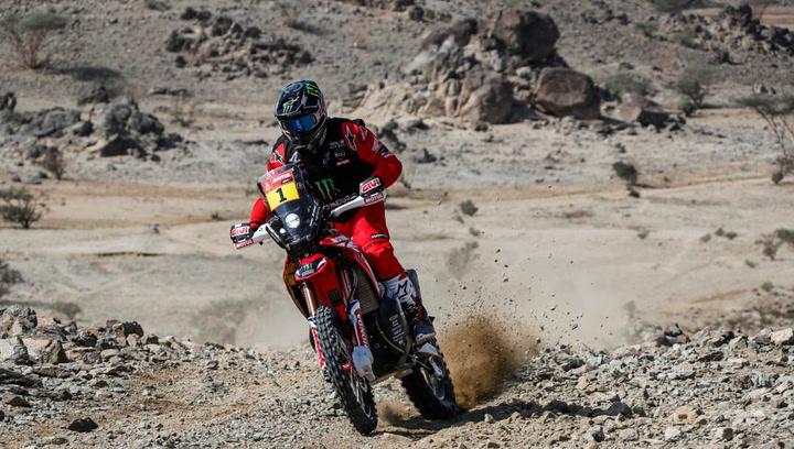 Brabec se lleva la etapa del Dakar en motos y Cornejo es el nuevo líder