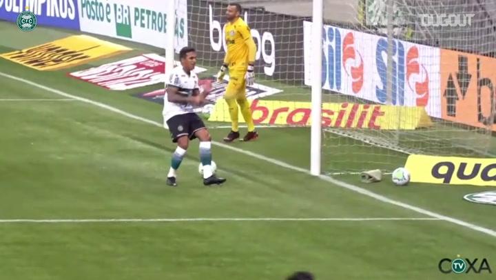 Coritiba beat Palmeiras at Allianz Parque