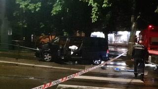 Ambassadebil i dødsulykke