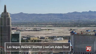 Review-Journal LiveCam, cityscape video