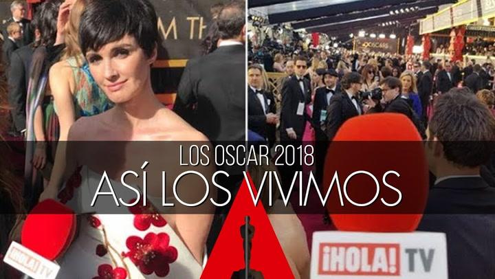 Los Oscar 2018, a través de los ojos de ¡HOLA!