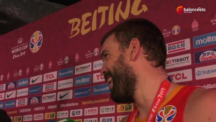 Declaraciones de Marc Gasol tras ganar el Mundial FIBA 2019 en China