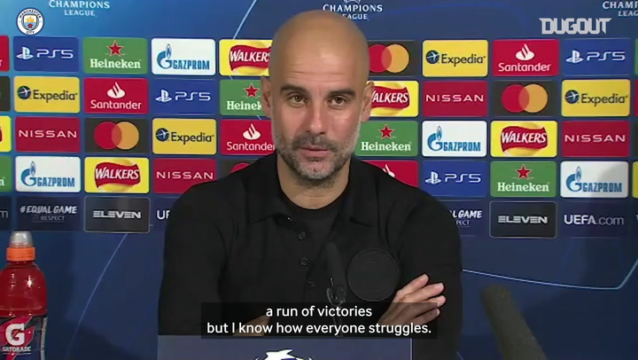 Guardiola: 'My players are focussed'