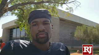 UNLV QB Armani Rogers on upcoming schedule – VIDEO