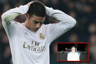 James Rodríguez se ríe y suelta una durísima frase sobre el Real Madrid: ''Nadie me quiere ahí''