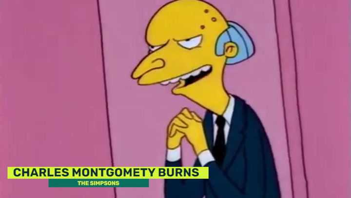 Think, Happy birthday mr burns have thought