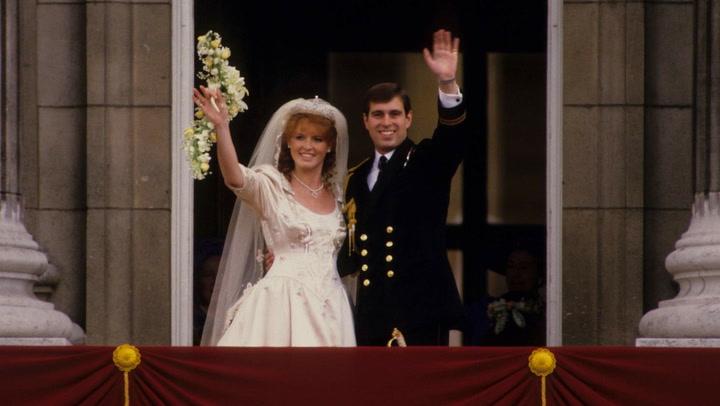 Recordamos la boda de Sarah Ferguson y el Príncipe Andrew