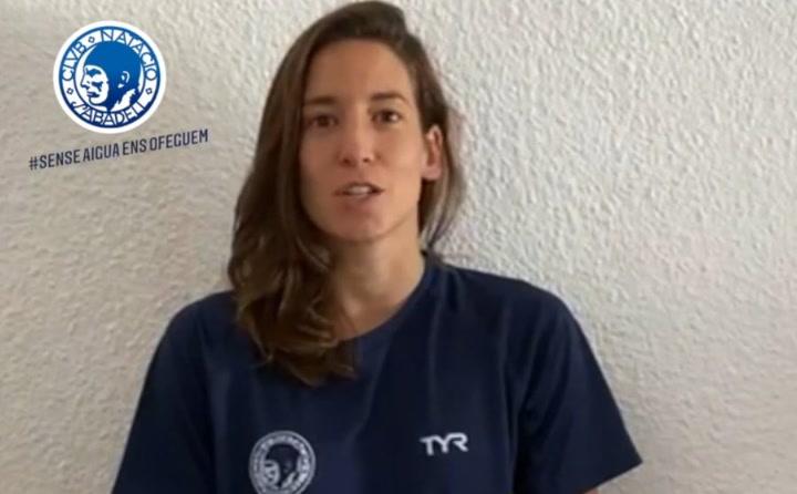 'Sin agua, nos ahogamos': El contundente mensaje del CN Sabadell