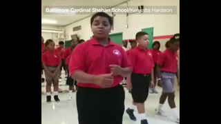 4-Minute Buzz: Baltimore schoolkids inspire with beautiful rendition of 'Rise Up'