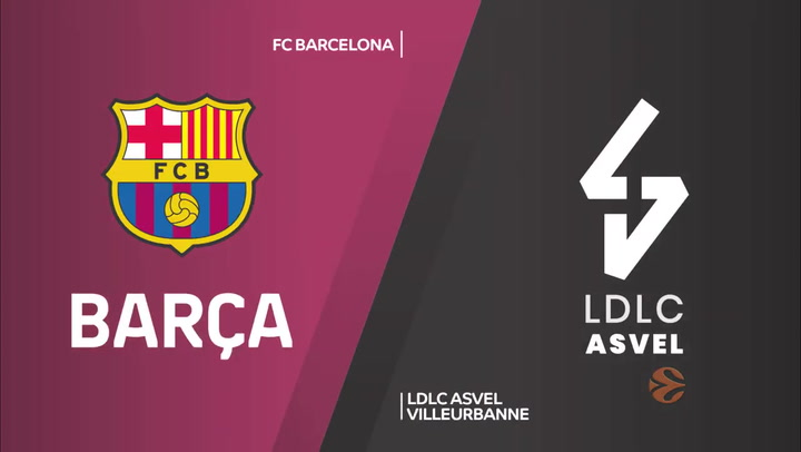 FC Barcelona - LDLC ASVEL Villeurbanne