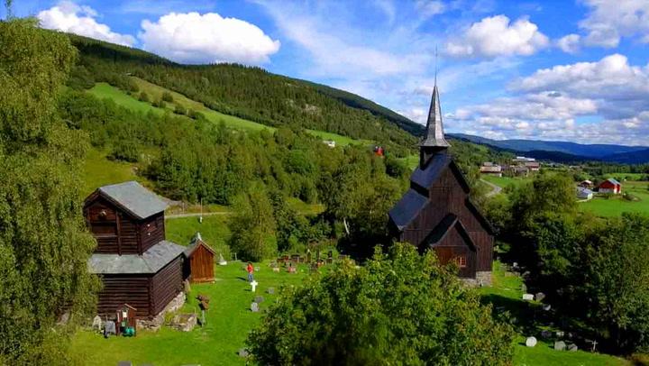 Bli med spektakulære Norge rundt på fem minutter