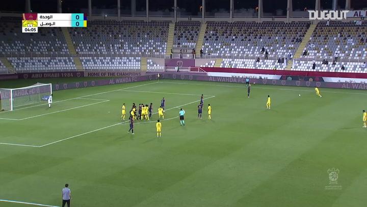 Arabian Gulf Cup: Al Wahda SCC 1-1 Al Wasl