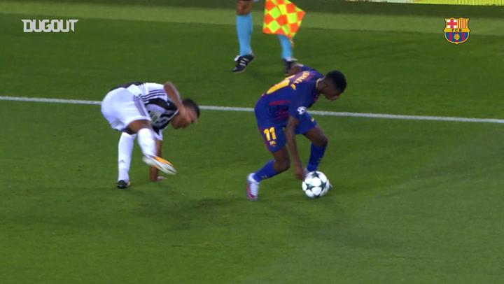 Ousmane Dembélé's best skills
