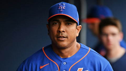 How much pressure is on Mets manager Luis Rojas this season?