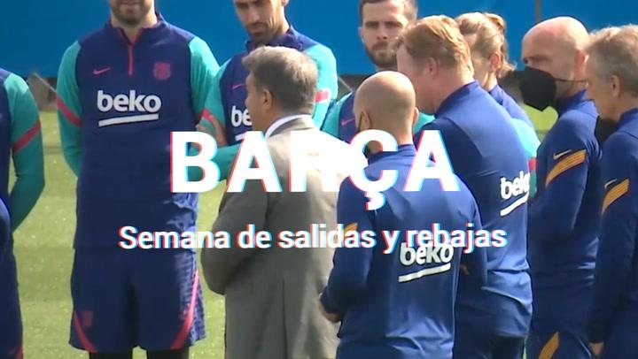 Semana de rebajas y salidas en el Barça
