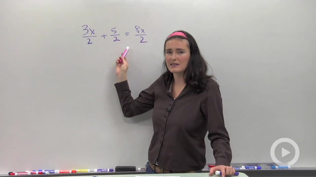 Solving Rational Equations with Like Denominators