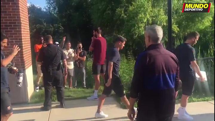 El Barça llega a los campos de fútbol de la Universidad de Michigan