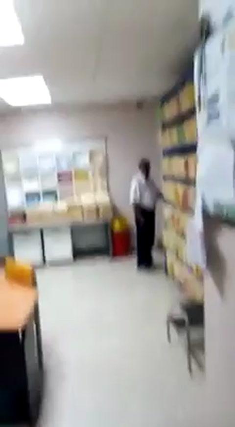Empleada del hospital de San Lorenzo, agrede a paciente