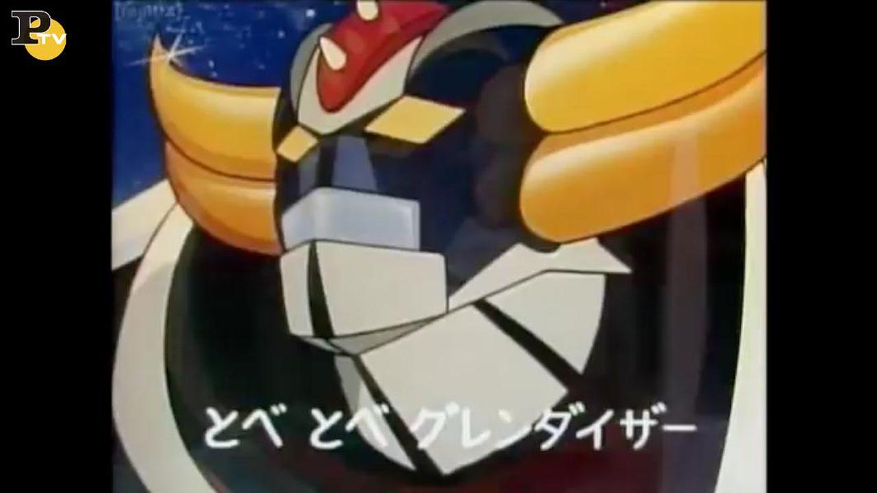 La sigla originale di goldrake che compie 40 anni video panorama