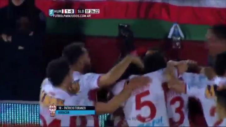 Toranzo sella la victoria ante San Lorenzo