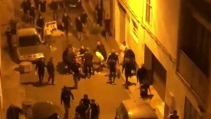 Detenidos Boixos Nois por altercados en Sevilla