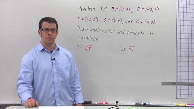 The Geometric Representation of Vectors - Problem 2