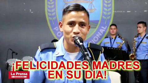 Policía de Honduras estrena canción dedicada a las madres