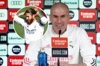 Zidane advierte sobre el Barcelona y su contundente respuesta sobre Sergio Ramos en el Real Madrid