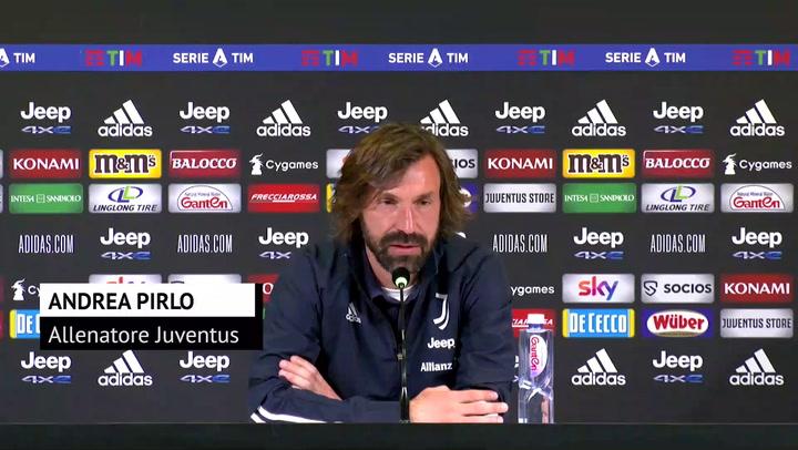 """Pirlo ammette: """"Juve, la scossa doveva arrivare mesi fa"""""""
