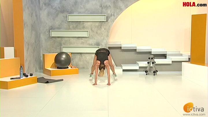 ¡Sesión de flexiones con salto!